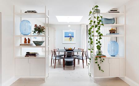 Studio Ashby designed kitchen at Beaulieu, Hampshire