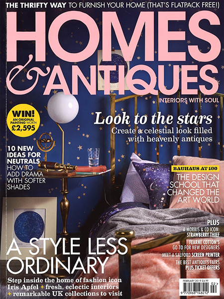 PRESS: Studio Ashby in Homes & Antiques