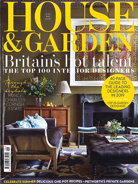 PRESS: Studio Ashby in House & Garden: The Top 100 Interior Designers