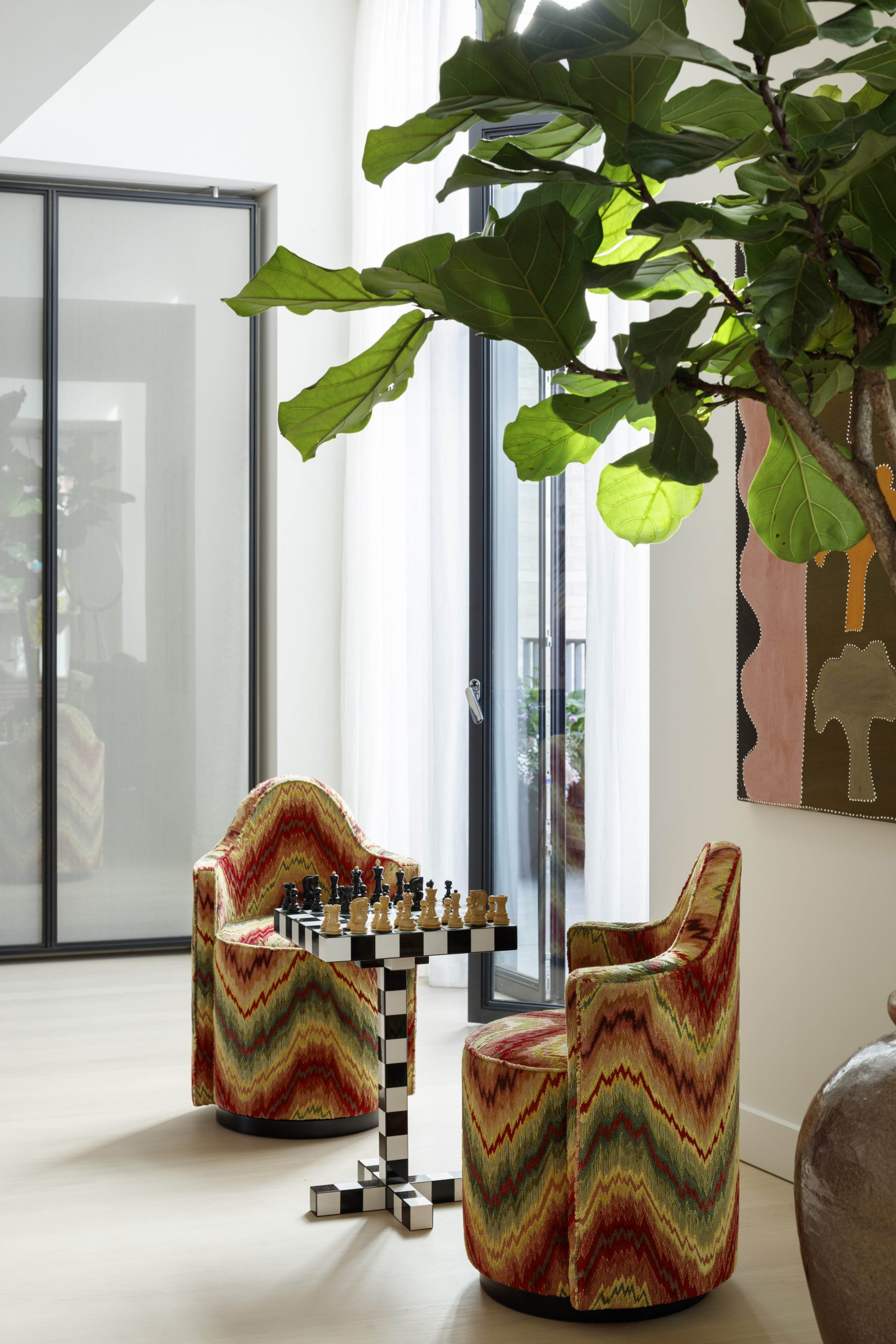 Chess Chair Sister By Studio Ashby