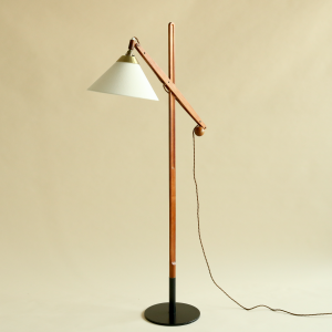 Le Klint Oak Floor Lamp, Model 325