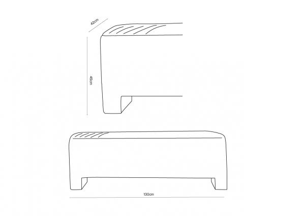 Dachshund Bench Dimensions