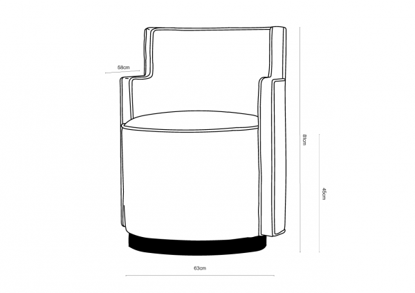 Low Step Chair Dimensions