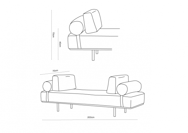 Stem Daybed Dimensions