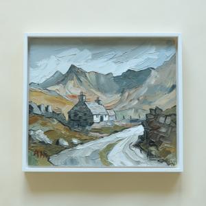 Cornish Oil Painting