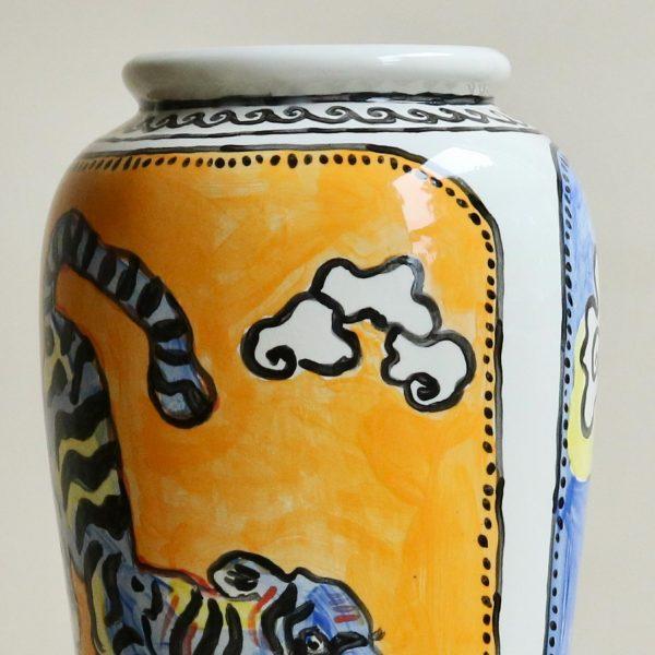 Large Oval Tigris-Vase-by-Christabel-MacGreevy-Sister-StudioAshby
