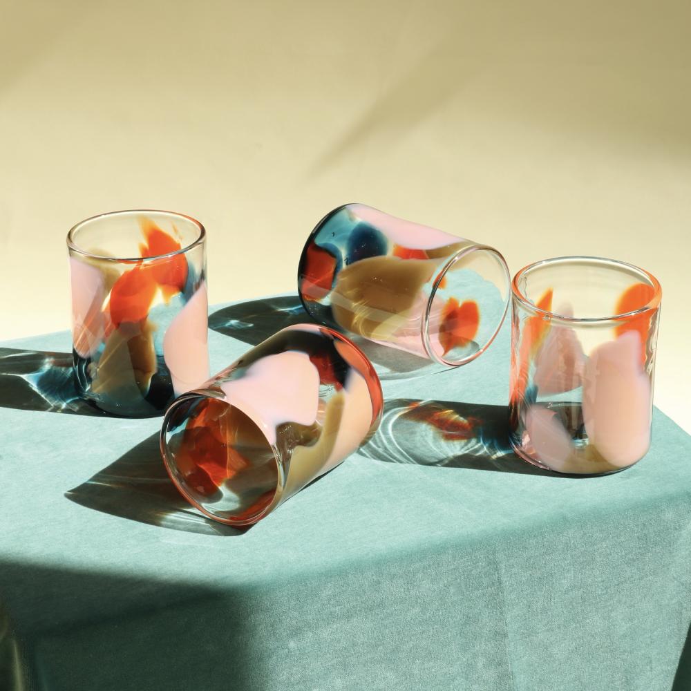 Blown Glasses Coast Colourway