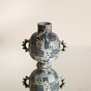 Dea Domus - Muva Checker Hoop Vase_